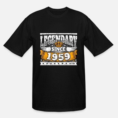 Birth Legend Birthday: Legendary since 1959 birth year - Men's Tall T-Shirt