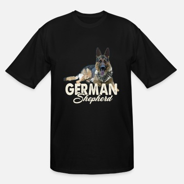 German Shepherd German Shepherd Shirt - German Shepherd Love Shirt - Men's Tall T-Shirt