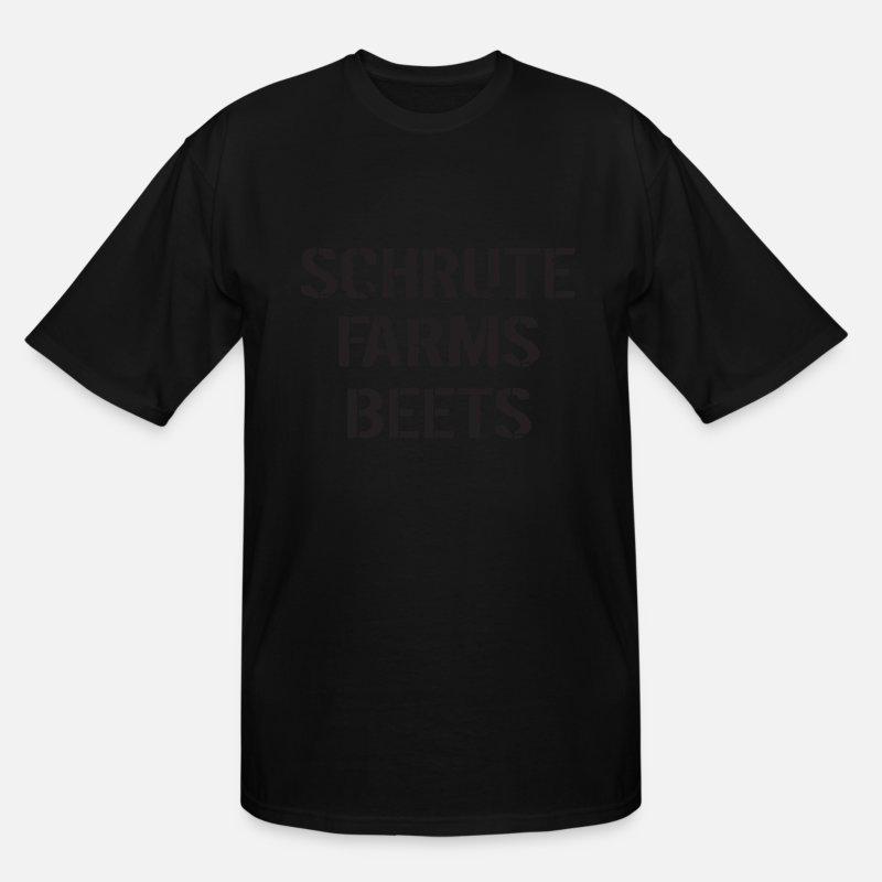 5c01eb7e5 Farmer Apparel T-shirts T-Shirts - Schrute Farms Beets Adult Funny Humor Tv