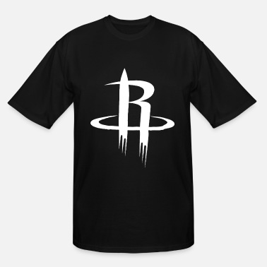 Basketball Logo With Wings Nba Basketball Men s Houston Rockets Long Sleeve T - Men's Tall T-Shirt