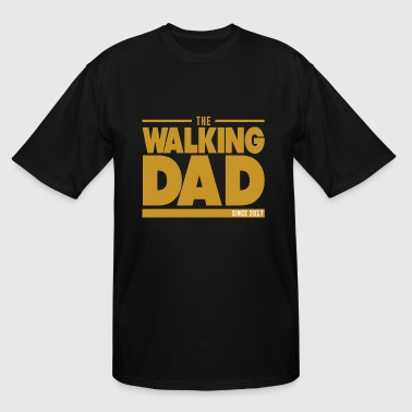 Dad Since 2017 THE WALKING DAD SINCE 2017 - Men's Tall T-Shirt