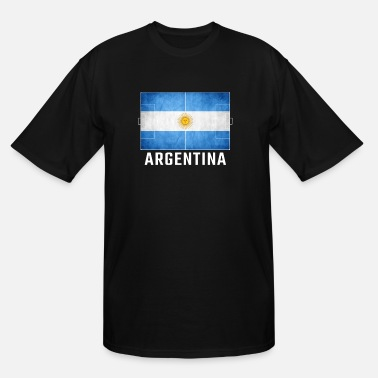Grudge Flag Design Argentina Gifts - Men's Tall T-Shirt