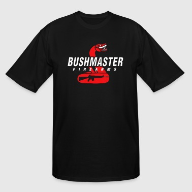 BUSHMASTER Fire Arms logo - Men's Tall T-Shirt