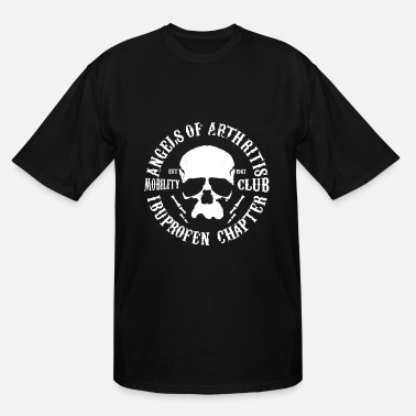 Motorcycle Angels Of Arthritis Mobility Club Motorcycle SOA I - Men's Tall T-Shirt
