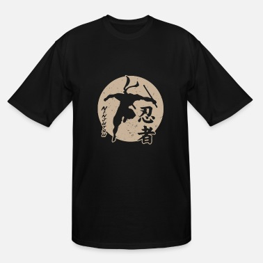Ninjutsu Ninjutsu Sun Master Ninja Martial Art Fighting - Men's Tall T-Shirt