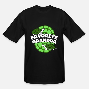 Favorite Grandpa FAVORITE GRANDPA TURTLE SHIRT - Men's Tall T-Shirt