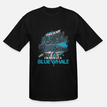 Costume Carneval Blue Whale Costume Carneval Halloween Animal - Men's Tall T-Shirt