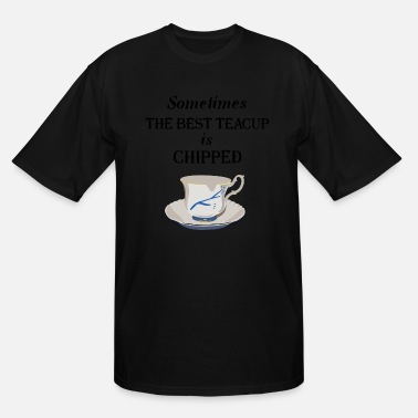 Killian OUAT. Teacup Chipped. - Men's Tall T-Shirt