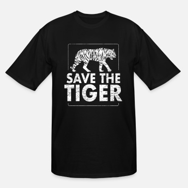 Animal Protect Save the tiger Animal Protection - Men's Tall T-Shirt
