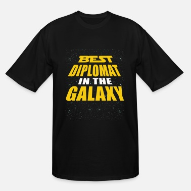 Diplomatic Best Diplomat In The Galaxy - Men's Tall T-Shirt