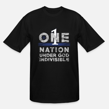 Indivisible One Nation Under God Indivisible Deputy Sheriff - Men's Tall T-Shirt