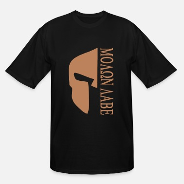Take Molon Labe Come And Take It Them Ar15 Second 2Nd A - Men's Tall T-Shirt
