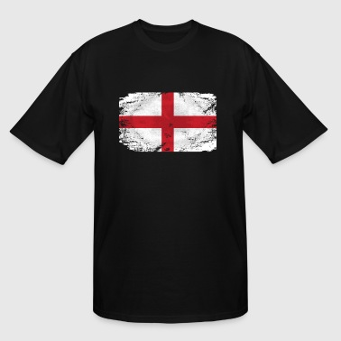 England Flag - Men's Tall T-Shirt