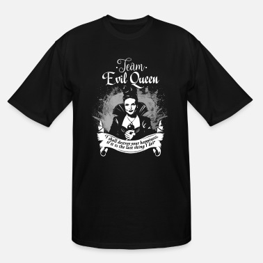 Once Upon A Time Quotes Team Evil Queen - Men's Tall T-Shirt