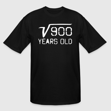 Square Root Of 900 30 Years Old - Men's Tall T-Shirt
