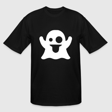 Snapchat Ghost GHOST SnapChat Style Fun Novelty Ladies Skin - Men's Tall T-Shirt