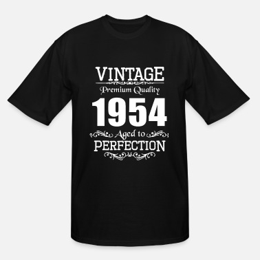 Rocking Vintage Premium Quality 1954 Aged To Perfection - Men's Tall T-Shirt