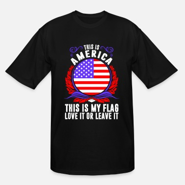 America This Is America - Men's Tall T-Shirt