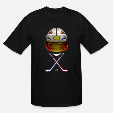 Gretzky Puck Wars - Rebel - Men's Tall T-Shirt