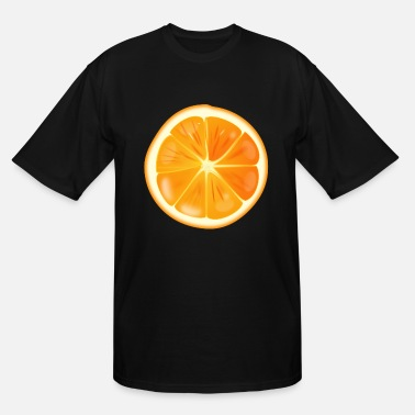 Fruit Orange Fruit Imag - Men's Tall T-Shirt