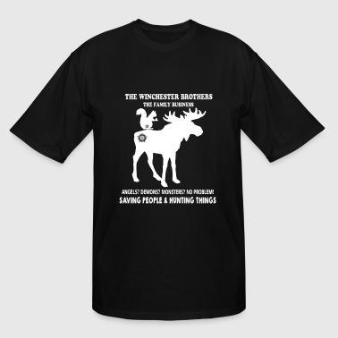 Hunting Things Hunting - The Winchester brothers hunting things - Men's Tall T-Shirt