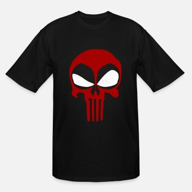 ce6294a0505b Deadpool Deadpool - Deadpool - deadpool punisher - Men  39 s Tall ...