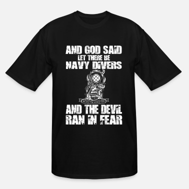 Us Army Germany Navy diver - We dive the world ever - Men's Tall T-Shirt