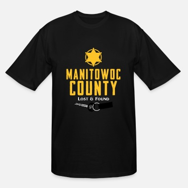 Citystate Manitowoc county - Lost and found - Men's Tall T-Shirt