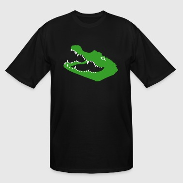 Alligator Gator crocodile alligator croc gator kaiman - Men's Tall T-Shirt