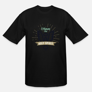 Spirit Holy Spirit - Men's Tall T-Shirt