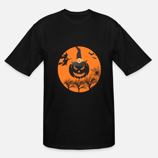 Forest T-Shirts - halloween - Men's Tall T-Shirt black