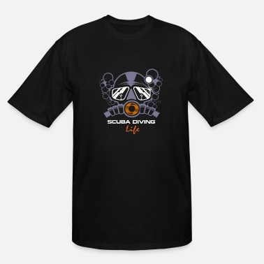 Rebreather REBREATHER Diving/Tauchen/busseig/Mergulho/Buceo - Men's Tall T-Shirt