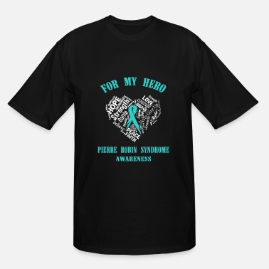 Ehlers Danlos For my hero Pierre robin syndrome awareness - Men's Tall T-Shirt