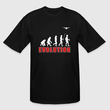 Drone Evolution Drone Evolution - Men's Tall T-Shirt