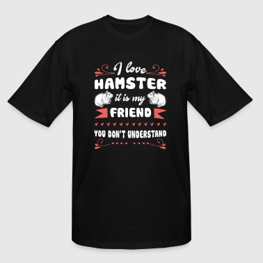 Hamster Tee Shirt - Men's Tall T-Shirt