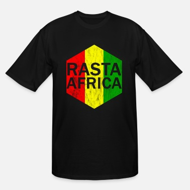 Rasta Rasta Africa - Men's Tall T-Shirt