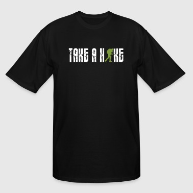 Take A Hike Hiking Trail Route Wandering Gift - Men's Tall T-Shirt