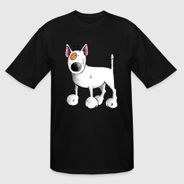 Funny English Bull Terrier- Bullterrier - Men's Tall T-Shirt