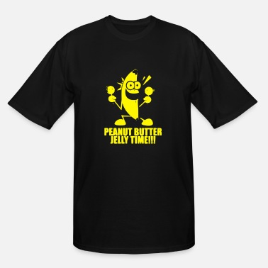 Banana Peanut Butter Jelly Time Peanut Butter Jelly Time Banana - Men's Tall T-Shirt