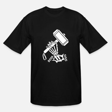 Thor Symbol Thor Hammer - Men's Tall T-Shirt