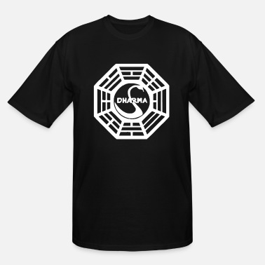 Initial Dharma Initiative - Men's Tall T-Shirt