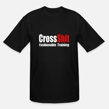 Crossshit CrossShit Fashionable - Men's Tall T-Shirt