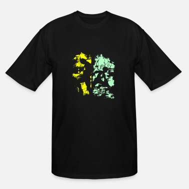 All Might All Might vs Midoriya - Men's Tall T-Shirt