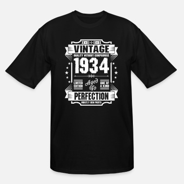 1934 Vintage 1934 Perfection - Men's Tall T-Shirt
