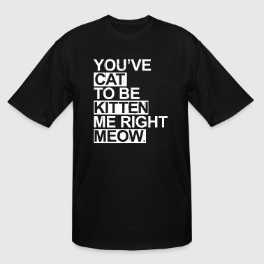 You ve cat to be kitten me right meow - Men's Tall T-Shirt