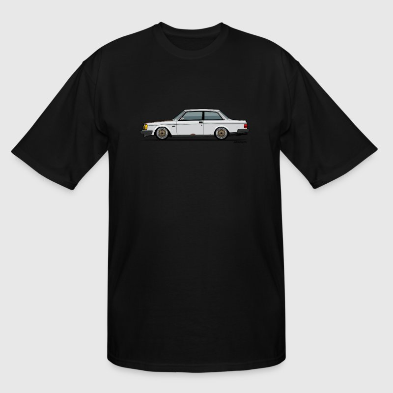 Volvo 240 242 Coupe Matt's Rust Lightyear - Men's Tall T-Shirt