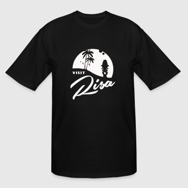 Visit Risa - Men's Tall T-Shirt