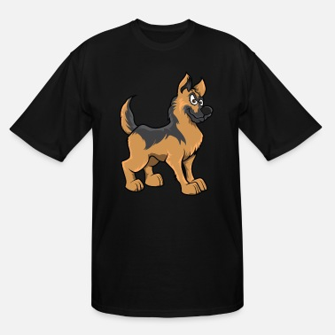 Awesome German Shepherd German shepherd - Men's Tall T-Shirt