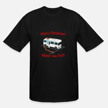 merry christmas shitter full - Men's Tall T-Shirt
