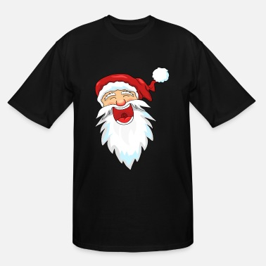 Santa Claus Laughing Santa Claus / Santa Claus - Men's Tall T-Shirt